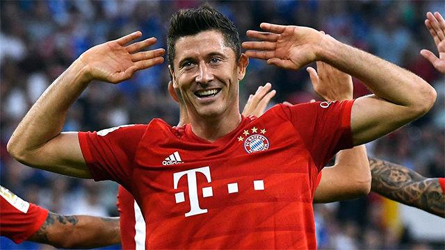 El Bayern se llevó los tres puntos en Veltins-Arena
