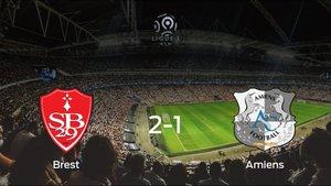 El Brest vence 2-1 al Amiens SC y se lleva los tres puntos