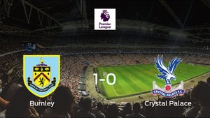 El Burnley vence 1-0 al Crystal Palace