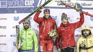 Cardona en lo más alto del podium en la estación italiana
