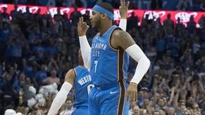 Carmelo Anthony deja los Oklahoma Thunder