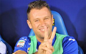 Cassano acaba abruptamente su segunda etapa en la Sampdoria