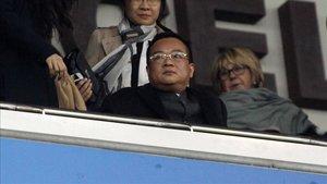 Chen Yansehng verá los dos próximos partidos en el palco