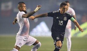 Chile y México se enfrentaron en San Diego en un gran partido