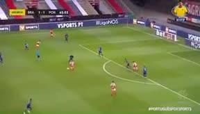 Con esta espectacular asistencia de tacón dio la victoria Trincao al Braga