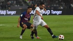 Coutinho ha jugado sus primeros minutos de la temporada