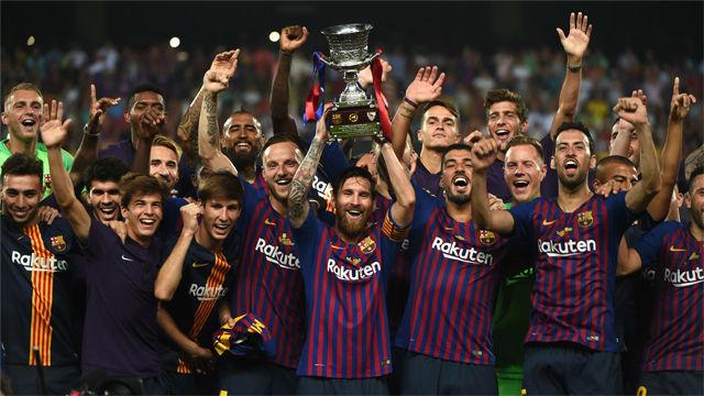 La crónica de primer título del Barça