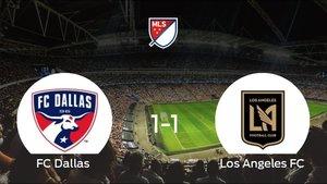 El FC Dallas y el Los Angeles FC consiguen un punto tras empatar a 1 en su último partido