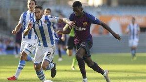 Dembélé puede volver a disponer de minutos ante la Real Sociedad