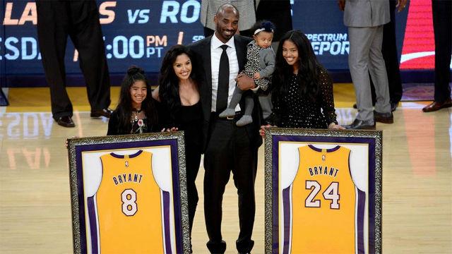 El día que el 8 y el 24 de Kobe Bryant entraron en el Olimpo de los Lakers