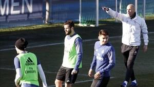 Enzo se entrena habitualmente con el primer equipo