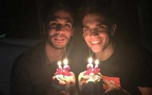 Èric y Marc Bartra nacieron el 15 de enero de 1991