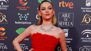 Ester Expósito la lía en los Goya 2020 con el corto Madrid 2120