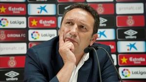 Eusebio se ha estrenado con el Girona con un empate