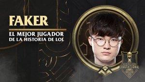 Faker, el mejor jugador de la historia de LOL