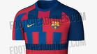Se filtra la posible próxima elástica del Barça