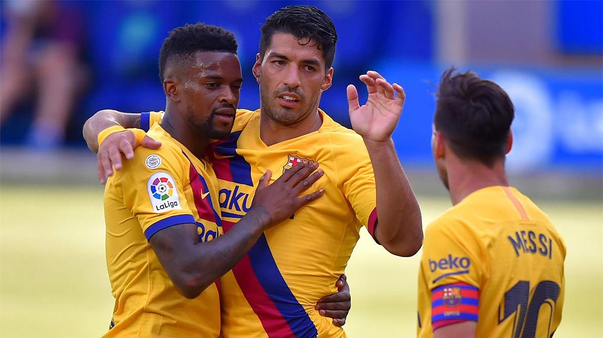 El gol de Semedo al Alavés con el que se estrena esta temporada