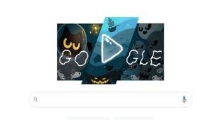 Google le dedica su doodle a la celebración de Halloween 2020