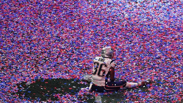 Si no la has visto, aquí tienes todo lo que dio de sí la victoria de los Patriots en la Super Bowl