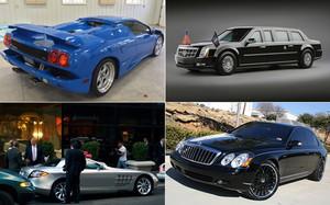 La increíble colección de coches de Donald Trump
