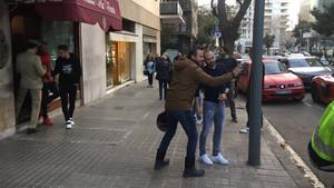 Iniesta no faltó a la comida en Via Veneto para despedir al Jefecito