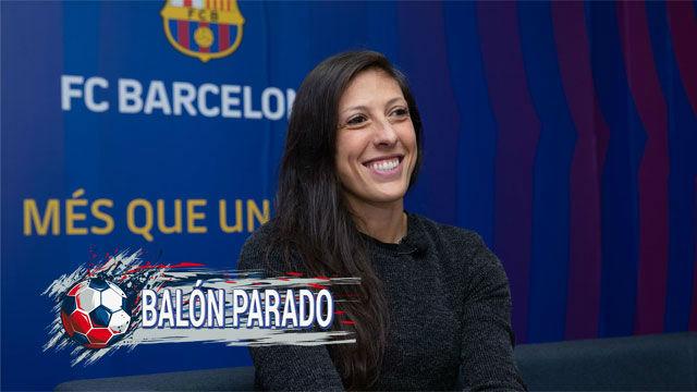 Jenni Hermoso nos desvela la música que se escucha en el vestuario del Barça