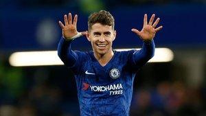 Jorginho tiene contrato con el Chelsea hasta 2023.