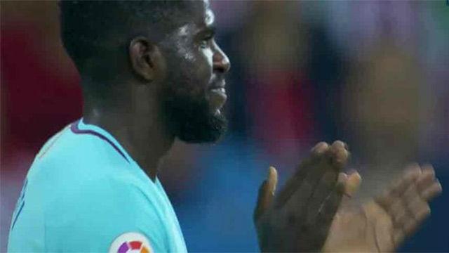 LALIGA | Athletic - FC Barcelona (0-2): Umtiti se jugó la expulsión