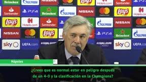 ¿Las premonitorias palabras de Ancelotti?