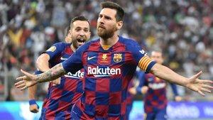 Leo Messi quiere hacer olvidar la polémica de los últimos dos días con goles