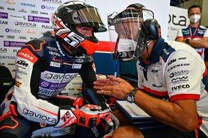 El líder de Moto3, Albert Arenas