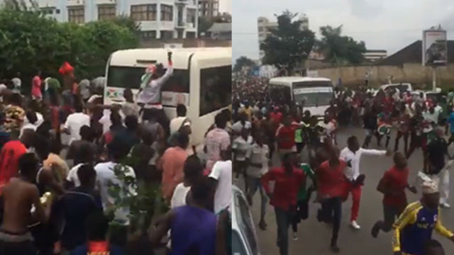 ¡Locura en Burundi! Así fueron los increibles festejos en el país tras su primera clasificación para una Copa África