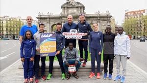 Los favoritos de la maratón de Madrid