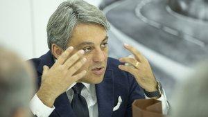 Luca De Meo, presidente de Seat.