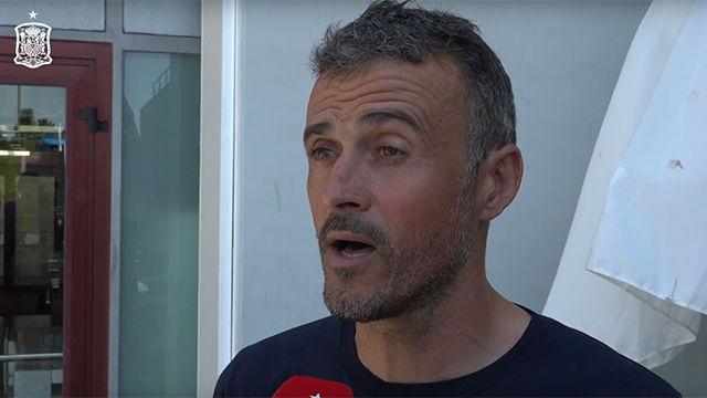 Luis Enrique se ha mostrado orgulloso de ser el nuevo seleccionador de España
