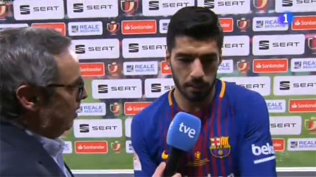 Luis Suárez: Al principio de temporada cualquiera habría firmado el doblete
