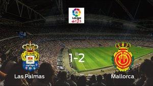 El Mallorca se queda con los tres puntos después de vencer 1-2 al Las Palmas
