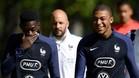 Mbappé está con la selección francesa