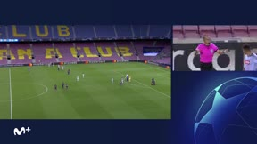 Messi dio el susto a los culés y Suárez sentenció el partido