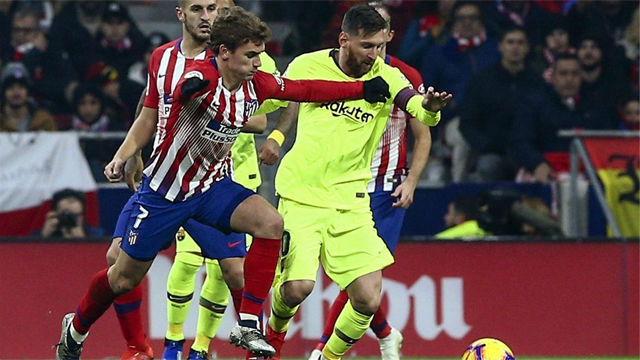 Messi le explicó a Griezmann por qué no come en su mesa