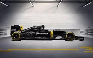 El negro predomina en el nuevo monoplaza de Renault