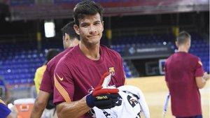 Pablo Álvarez inicia su décima temporada seguida en el Barça