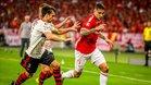 Paolo Guerrero fue totalmente opacado por la estrategia del Flamengo