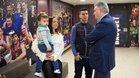 Presentación de Marcenio como jugador del Barça Lassa de fútbol sala