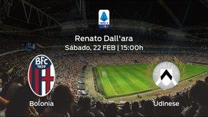 Previa del partido: el Bolonia recibe al Udinese