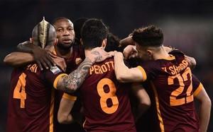La Roma ganó con contundencia antes de medirse al Madrid