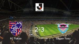 El Sagan Tosu vence 2-3 en el feudo del FC Tokyo