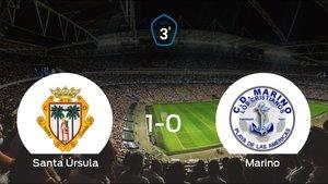 El Santa Úrsula se hace fuerte en casa y derrota al Marino