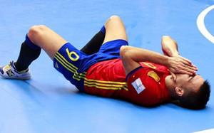 Sergio Lozano se ha lesionado