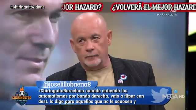 Soria vuelve a atacar a Hazard de la peor manera: Hamburguesas mayores
